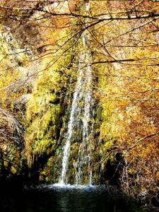 Chorro Grande Falls in Fall